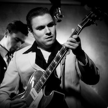 Guillaume Rousseau LAZY BUDDIES groupe français de blues swing rock'n roll rythm'n blues