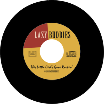 This little girl's gone rockin' by Lazy Buddies groupe français de blues swing rock'n roll rythm'n blues